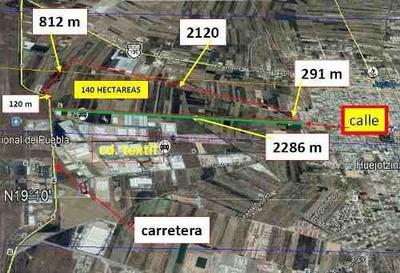Terreno En Venta Cerca Del Aeropuerto De Huejotzingo