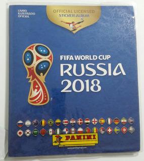 Álbum Copa Rússia 2018 Completo + Kit Atualização + Revista