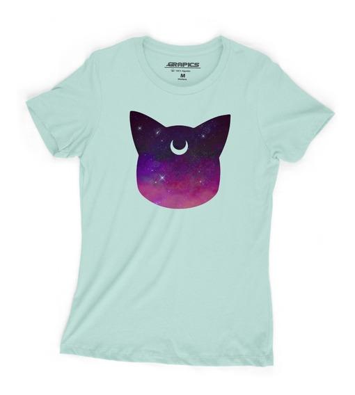 Playera Grapics Sailor Moon Luna Camiseta Geek
