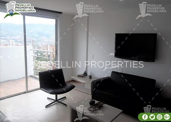Alquiler De Apartamentos Amoblados En Medellín Cód: 4612