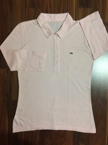Blusinha Lacoste 38 M Pima Cotton Importada Nova Original