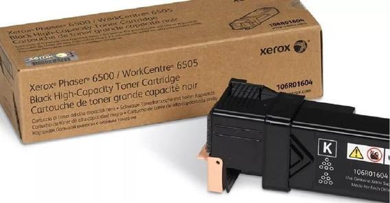 Toner Xerox 106r01604 Preto - Phaser 6500/ Wc 6505 Original