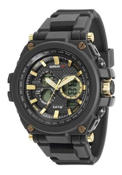 Relógio Speedo Masculino Ref: 81160g0evnp1 Big Case Anadigi