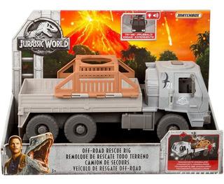 Jurassic World Remolque De Rescate Todo Terreno Nuevo