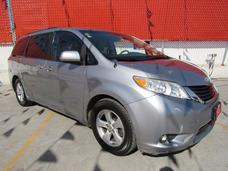 Toyota Sienna Le Plata 2012 Comonueva 3 Años De Garantia