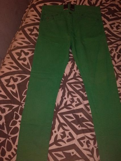 Jeans Broos Color Verde
