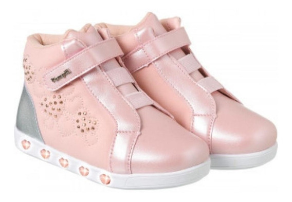 Tênis Pampili Sneaker Luz Rosa