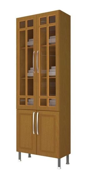 Paneleiro Indekes Jade Nova 4 Portas Com Vidro