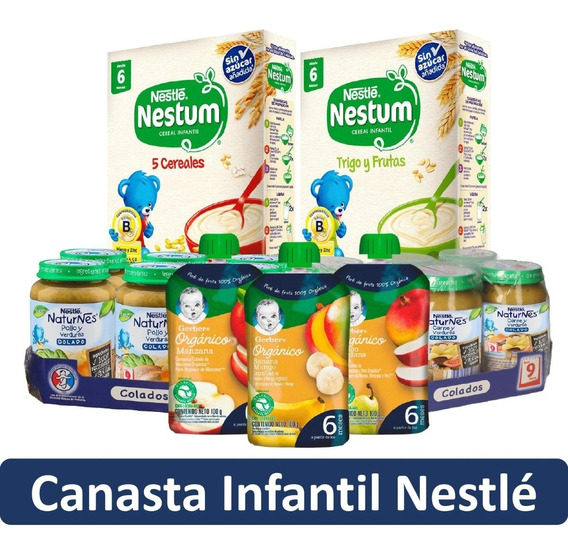 Canasta Infantil Nestlé Con Envio Gratis