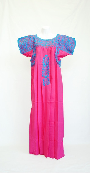 -.vestido Artesanal Oaxaqueña. San Antonino Castillo Velasco