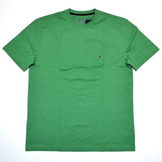 Camiseta Básica Tommy Hilfiger Tamanho Gg Xl Nova Original