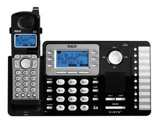 Telefono Empresarial R C A 2 Lineas Inalámbrico