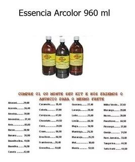 02 Essências - 960ml - Cs18 Arcolor - Canela