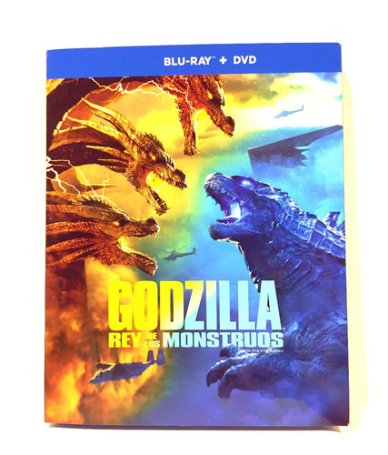 Godzilla 2 : El Rey De Los Monstruos Bluray + Dvd Combo