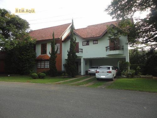Imagem 1 de 11 de Casa Com 4 Dormitórios À Venda, 410 M² Por R$ 1.800.000,00 - Condomínio Campos De Santo Antônio - Itu/sp - Ca0200