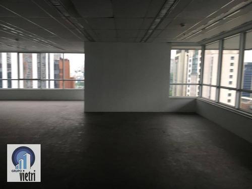 Conjunto Para Alugar, 181 M² Por R$ 10.500/mês - Brooklin - São Paulo/sp - Cj0064