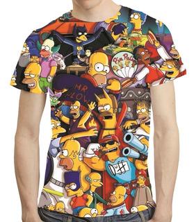 Camisa Simpson Camiseta Homer Simpson - Estampa Total