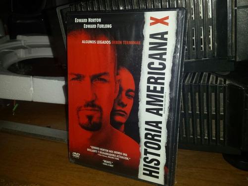 Imagen 1 de 2 de Historia Americana X Dvd