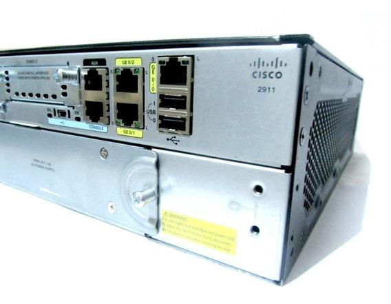 Cisco 2911 Uc/k9 Envio Imediato Completo Com Nota E Garantia