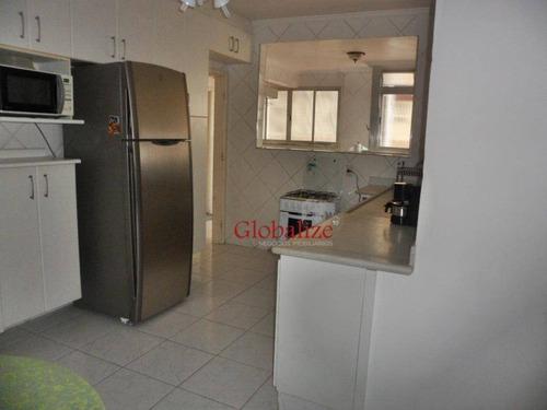 Imagem 1 de 28 de Apartamento Com 3 Dormitórios À Venda, 130 M² Por R$ 590.000,00 - José Menino - Santos/sp - Ap0865