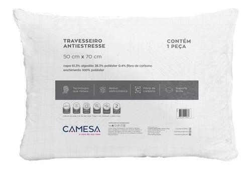 Travesseiro Antiestress 50x70 Suporte Firme Camesa
