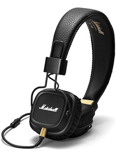 Auricular Marshall Major Ii Black (incluye Mic Manos Libres)
