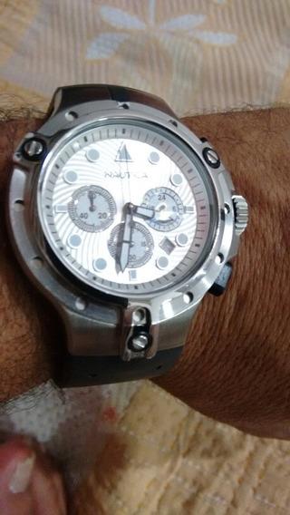 Relógio Nautica Masculino Referência 95036 Novo