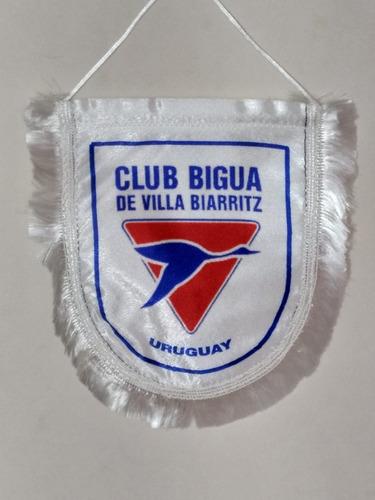 Imagen 1 de 2 de Banderín Club Biguá Villa Biarritz Nuevos, Fabricamos