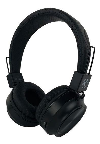 Headphone Bluetooth Fone De Ouvido Usb Cartão Microsd Cabo Auxiliar P2 Led Rgb Alta Definição Kp-486