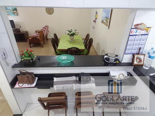 Apartamento À Venda No Bairro Pitangueiras - Guarujá/sp - 3255