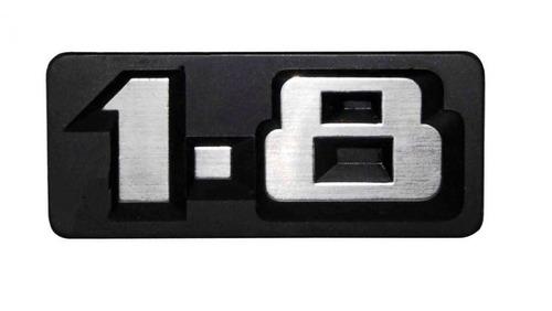 Logo Com Pinos Vw 1.8 Dianteiro Voyage Super Antigo Original De Época, Emblema Volkswagen Gravado Grade Frontal Radiador