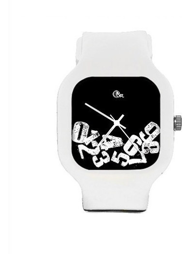 Relogio Troca Flex Watches Silicone A Prova Dagua 5atm