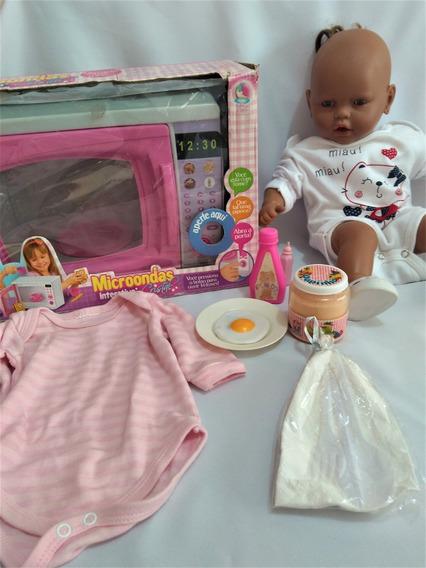 Boneca Negra Meu Bebê Da Estrela + Acessórios Ler Anuncio