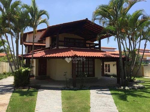 Imagem 1 de 13 de Casa Duplex, Estilo Colonial, Bem Localizada, Perto Da Praia, 03 Qts/01 Suíte, 325 M², R$ 2.500.000,00 - Camboinhas - Niterói/rj - Ca12110
