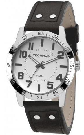 Relógio Technos Couro - 2036lox/k0k