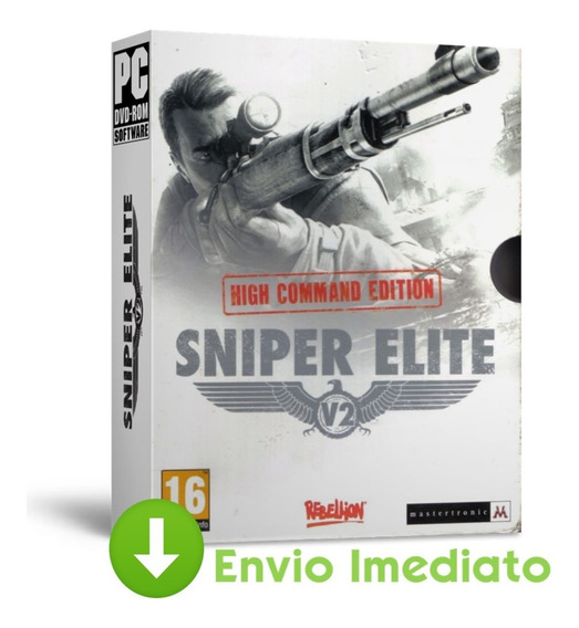 Sniper Elite V2 Remastered Pc Ação Garantida 2019 Envio On