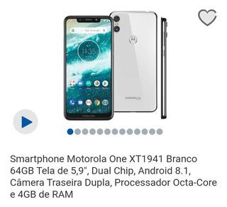 Celular Motorola - Moto One