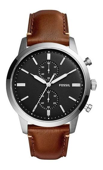 Reloj Fossil Fs5280 Para Caballero Correa De Piel