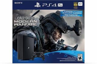 Ps4 Pro 1tb 4k Call Of Duty Modern Warfare Envío Gratis