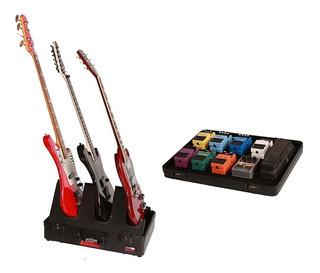 Estuche Gator G-gig-box Jr Soporte De Guitarra X3 Premium