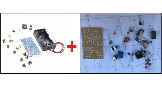 Radio Fm - Kit Para Montar + Kit Transmissor Fm