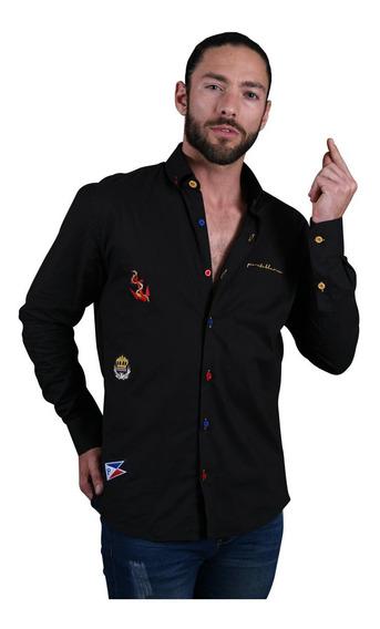 Camisa Portoblanco Hombre Manga Larga Artesanal