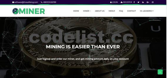 Script Php Investimento Mineração - (hyip ) Unilevel