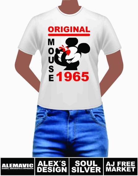 Original Mouse 1965 Playera Para Caballero Y Dama