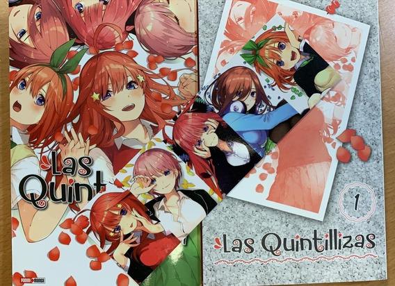 Manga Las Quintillizas # 1 Negi Haruba Español Panini
