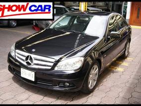 Mercedes Benz Clase C-200 Exclusive 2011. Aut, Piel,q/c,ra.