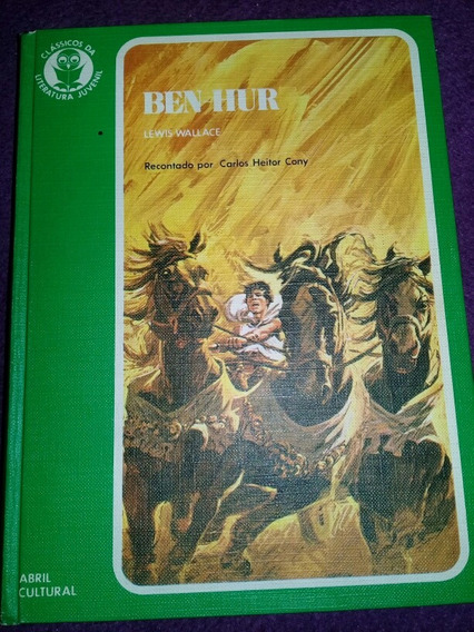 Classicos Da Literatura Juvenil Ben-hur N° 11capa Dura