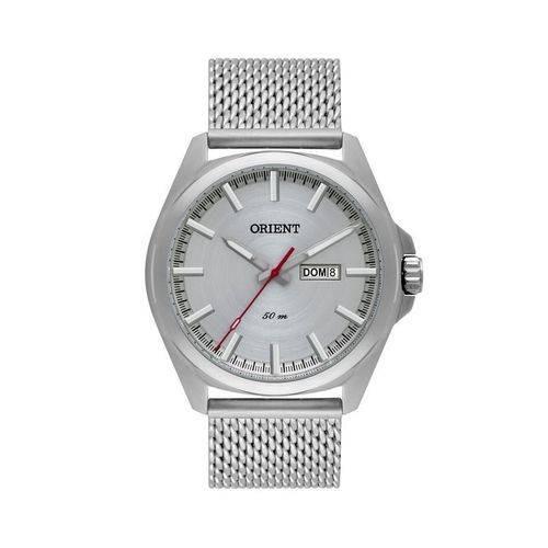 Relógio Orient Masculino Mbss2023 S1sx Prateado