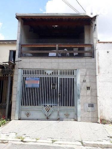 Imagem 1 de 18 de Sobrado Com 2 Dormitórios À Venda, 93 M² Por R$ 380.000,00 - Jardim Modelo - São Paulo/sp - So0464