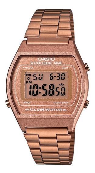 Relógio Casio Feminino Vintage B640wc 5adf Rose Retro